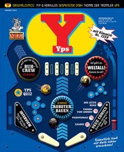 Ein Flipper als Cover - YPS 1/2013